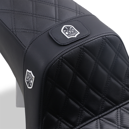 SDC Carbon Fibre Pro Series with Gripper and Back Rest - 06+ Dyna