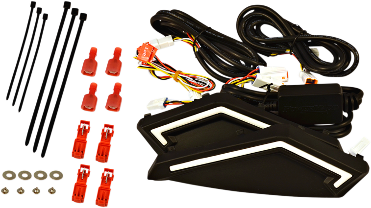 Powermadd Star Series Handguard LED Turn Signal Kit