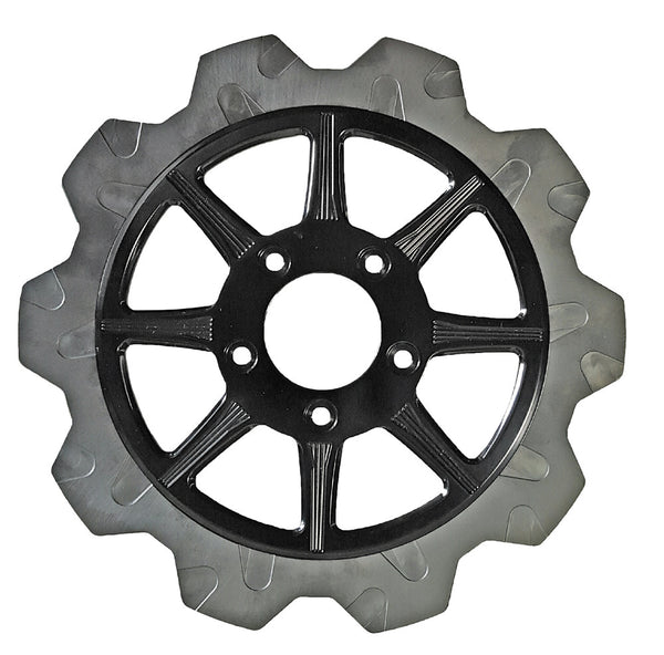 Lyndall Brakes High Carbon Steel Phoenix Rear Rotor - Black