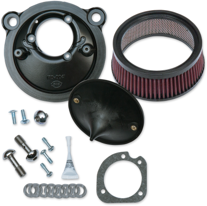 S&S Cycles Stealth Air Cleaner Kit - 07-17 XL