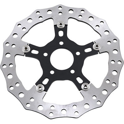 "Arlen Ness Jagged Floating Rotor - 11.8"" Rear Touring"