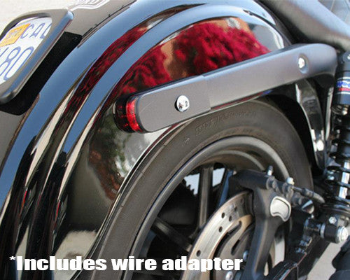 Alloy Art Dyna Strut Lights w/ Three Wire Setup (KIT)