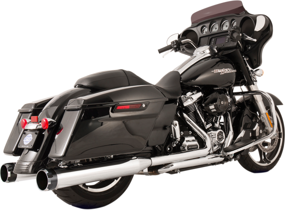 S&S Cycle El Dorado True Dual Exhaust - Twin Cam