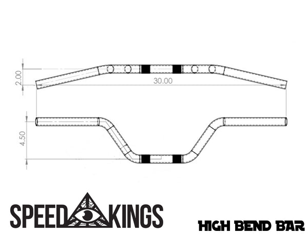 Speed-Kings High Bend Bar