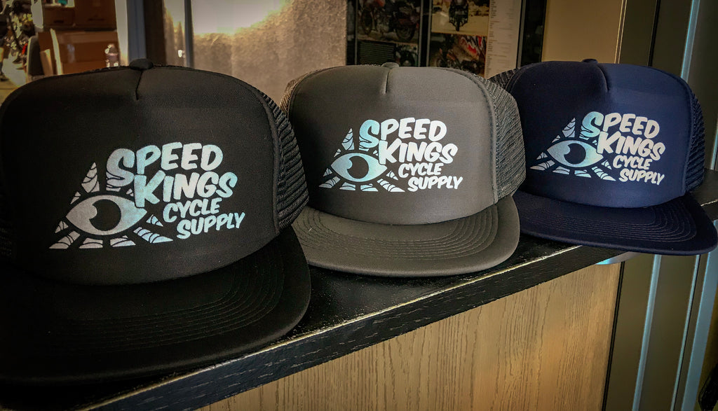 "Speed-Kings ""Burnout"" Trucker Hat"
