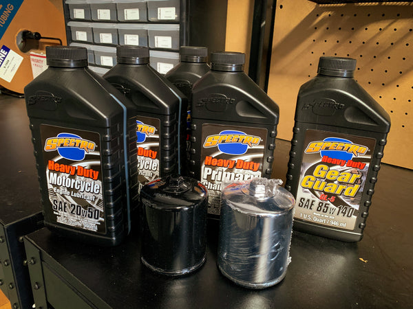 Spectro Oil Change Kit - Twin Cam