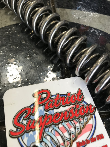 Patriot Suspension Genesis Front End Springs