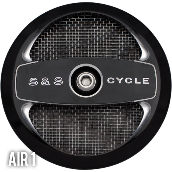 S&S Cycles Stealth Air Cleaner Kit - 01-17 Twin Cam