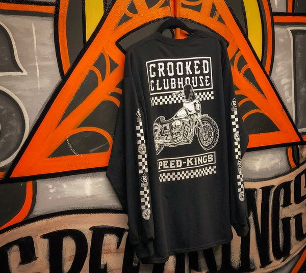 Speed-Kings Cycle X Crooked Clubhouse - Long Sleeve