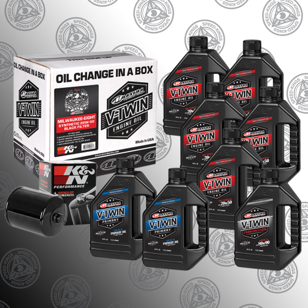 Maxima Racing Oil Change Kit - M8
