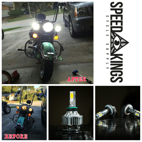 Speed-Kings LED Passing Lamp Bulbs (06+)