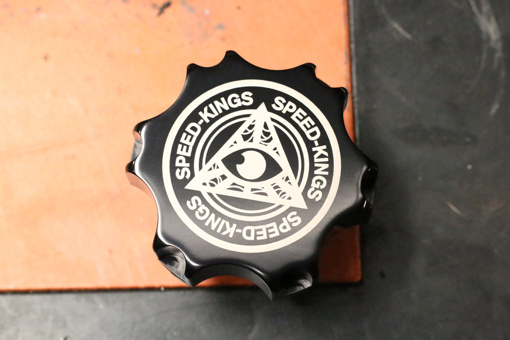 "Speed-Kings ""IV"" Gas Cap - Logo"