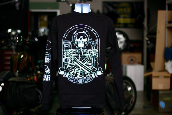 Speed-Kings Coffin Long Sleeve Shirt