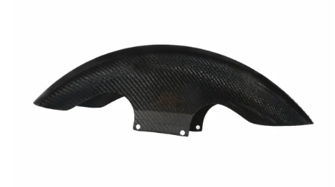 Hofmann Designs Shorty Bagger Carbon Fiber Front Fender