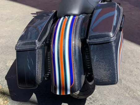 Hofmann Designs 2014 & Later Bagger Carbon Fiber Bags