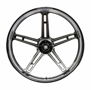 Hofmann Designs Signature Series 5 Spoke Front Wheel - Chrome