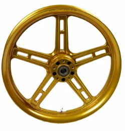 Hofmann Designs Signature Series 5 Spoke Front Wheel - Gold