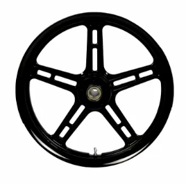 Hofmann Designs Signature Series 5 Spoke Front Wheel - Black