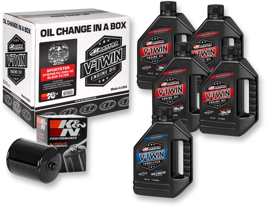 Maxima Racing Oil Change Kit - Sportster - Synthetic