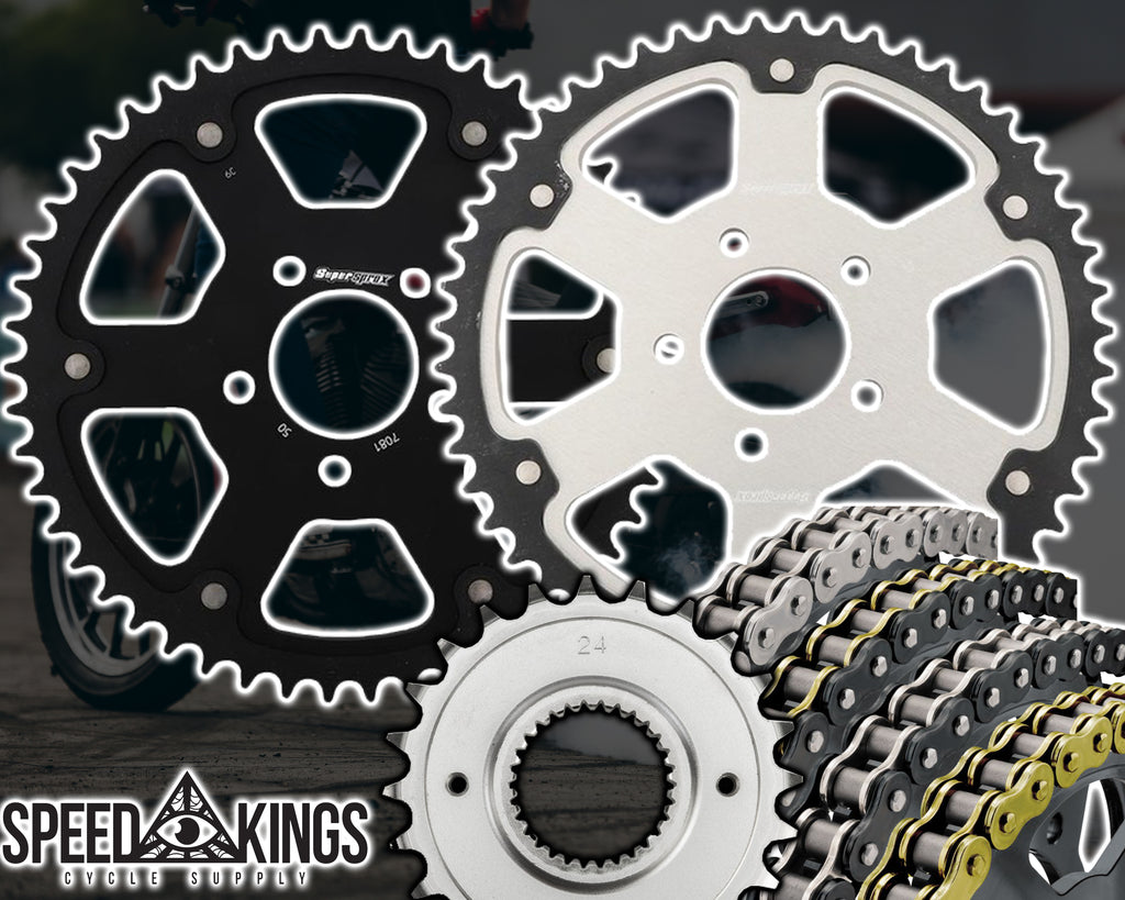 SuperSprox Chain Kit - 18+ Softail