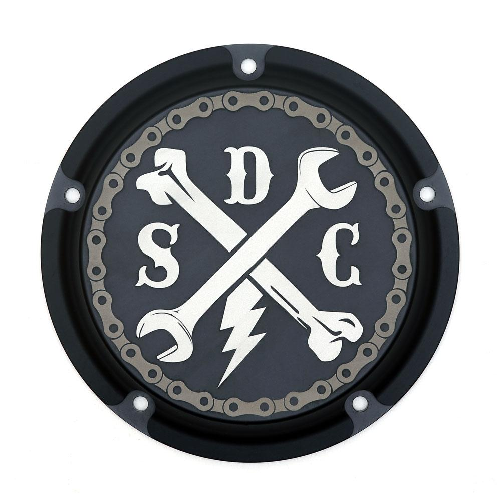 SDC Twin Cam Derby Cover - Wrenched