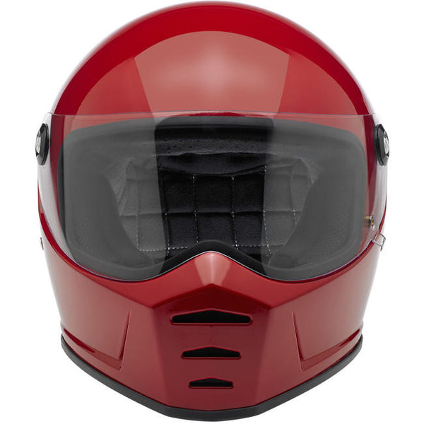 Biltwell Inc. Lane Splitter Helmet - Gloss Blood Red