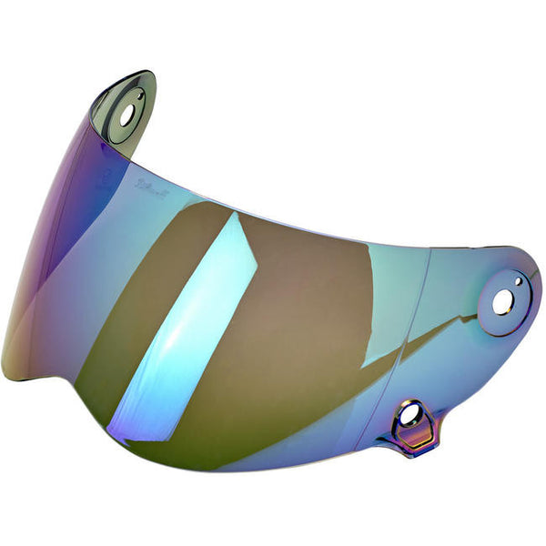 Biltwell Inc. Lane Splitter Shield - Rainbow Mirror