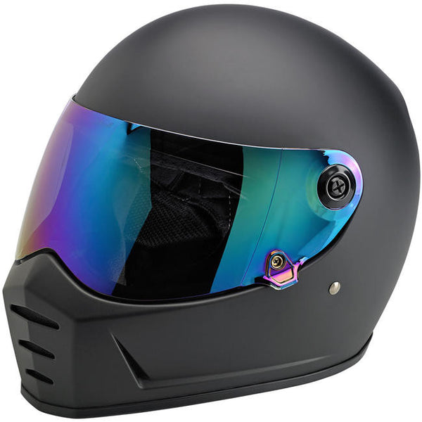 Biltwell Inc. Lane Splitter Gen 2  Shield - Rainbow Mirror