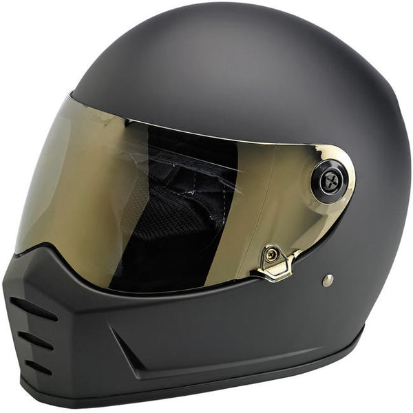 Biltwell Inc. Lane Splitter Shield - Gold Mirror