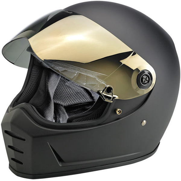 Biltwell Inc. Lane Splitter Gen 2  Shield - Gold Mirror