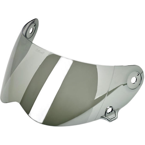 Biltwell Inc. Lane Splitter Shield - Chrome Mirror