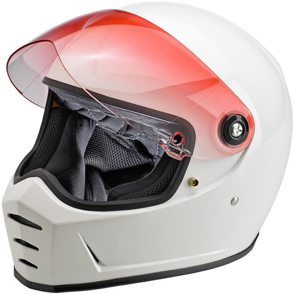 Biltwell Inc. Lane Splitter Shield - Red Gradient