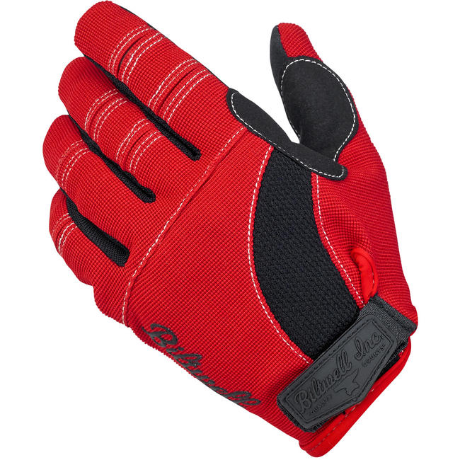 Biltwell Inc. Moto Gloves - Red/Black/White