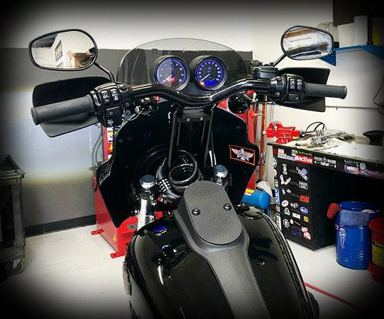 Guerrilla Cables 2014-2017 Dyna FXDL & FXDLS Speedo & Tach Relocation  Harness