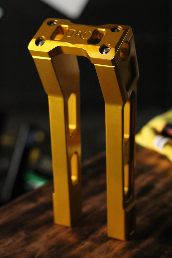 "Dynamite Crew Risers - GOLD 10"" Pullback"