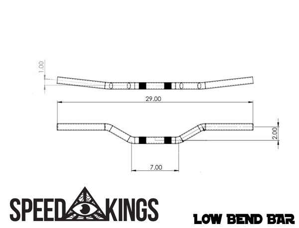 Speed-Kings Low Bend Bar