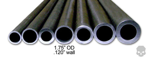 1.50 in ID - 1.75 in OD .120 in wall DOM -  DOM Tubing - Ballistic Fabrication