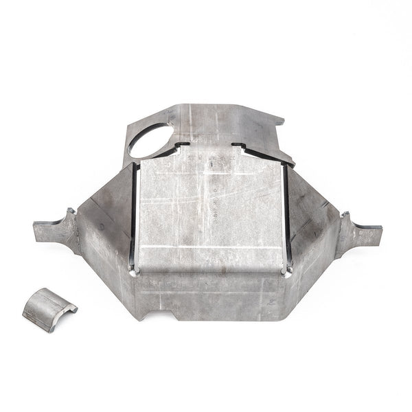 FJ80 Rear Diff Armor And Skid Plate
