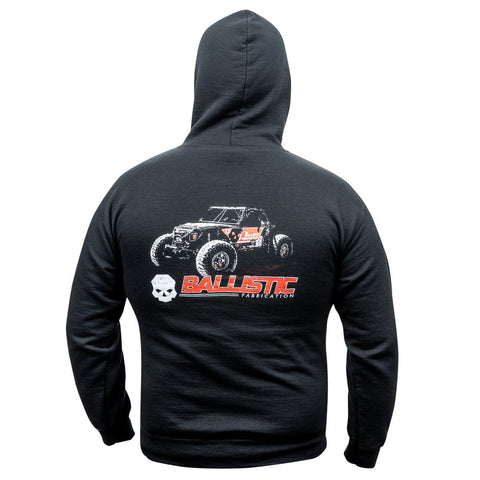 Rock Crawler Ballistic Fab Hooded Sweatshirt -  Swag - Ballistic Fabrication