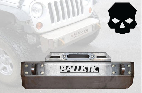 Jeep JK Front Bumper -  Jeep - Ballistic Fabrication