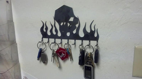 Ballistic Key Chain Rack -  Swag - Ballistic Fabrication