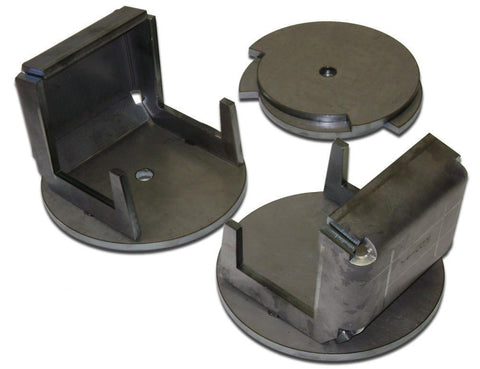Coil Spring Frame Mounts With Retainers (Pair) - Ballistic Fabrication