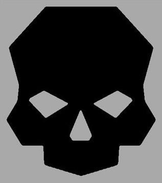 Skull Logo Sticker -  Swag - Ballistic Fabrication