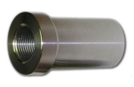 Race Style Chromoly 5/8 in - 18 tpi Tube Adapter -  Tube Adapter - Ballistic Fabrication