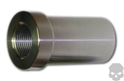 Race Style Chromoly 1 0 in - 14 tpi Tube Adapter 1 25 in - 1 5 in