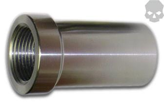 Race Style Chromoly 1.25 in - 12 tpi Tube Adapter 1.5 in - 1.75 in -  Tube Adapter - Ballistic Fabrication