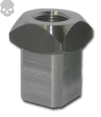 "7/8"" Square Tube Adapter -  Tube Adapter - Ballistic Fabrication"