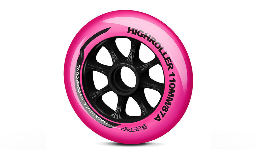 Highroller Pink 110mm 87A (A set of 8)