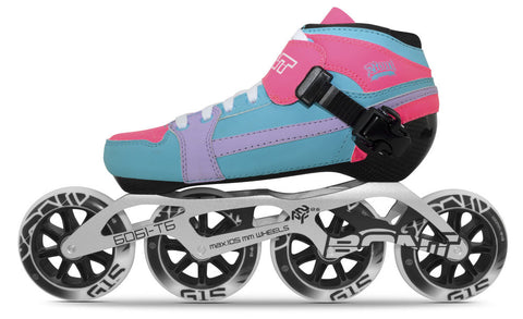 Pursuit 2pt 195MM Gamma Blue/Pink/Purple PKG
