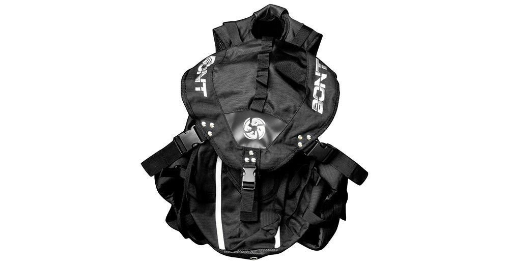 Black Backpack with free Snapback Hat